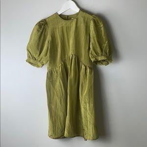 Capulet Elyse Mini Dress Burnished Gold